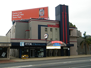 the Windsor Movie Theatre is only a short walk from our accommodation