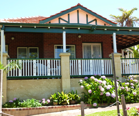 bed and breakfast nedlands