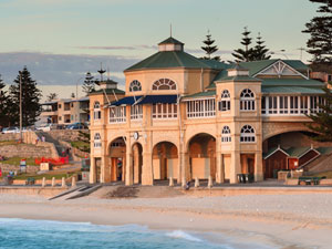 while staying at Exley house be sure to visit cottesloe beach and the tea rooms